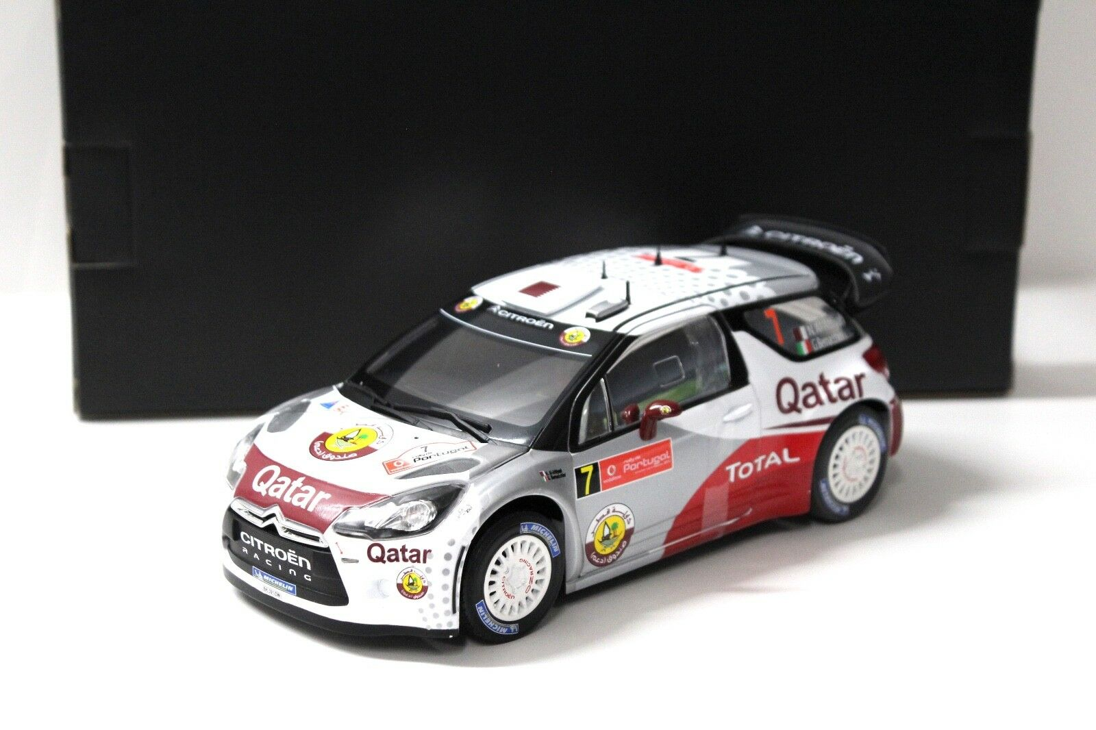 1 18 Norev Citroen ds3 WRC Rally Portugal 2012  7 New chez Premium-modelcars