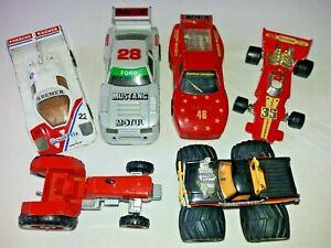 6-X-Matchbox-Die-Cast-vehiculos-especiales-Mustang-Porsche-Ferrari-pantano-Buster