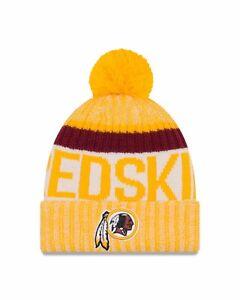 premium selection a5205 0e685 Image is loading Washington-Redskins-New-Era-2017-Sport-Knit-Sideline-