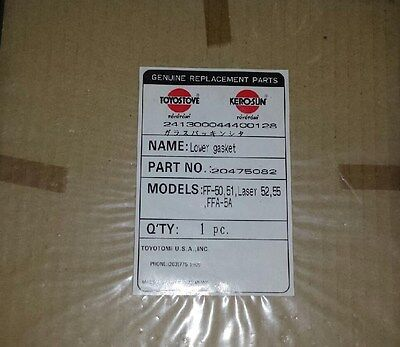 55 FF-50 Toyostove Laser 52 Joint Packing 20475081 51 Upper Gasket