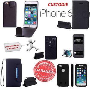CUSTODIA-CASE-COVER-PER-APPLE-IPHONE-6-6s-PELLICOLA-PROTETTIVA