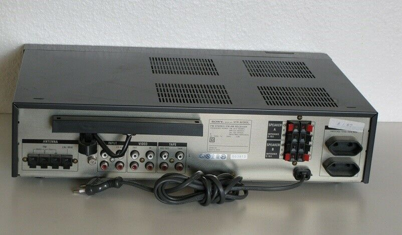 Receiver, Sony, STR-AV260L