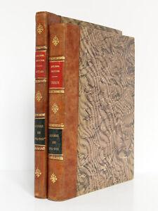 La-Guerre-de-1914-1918-Colonel-DUFFOUR-2-volumes-textes-et-atlas-1923