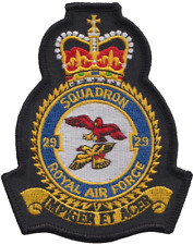 No 72 Squadron Royal Air Force RAF Blue Embroidered Badge Patch