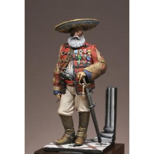 Atelier Maket Colonel Dupin Mexico 75mm Model Unpainted Metal Kit