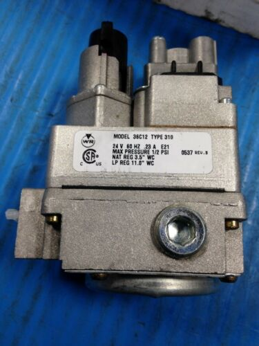 I8 WHITE RODGERS 36C12-310 UNIVERSAL REPLACEMENT GAS CONTROL REDUCER NEW