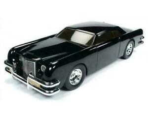 AUTO-WORLD-1-18-DIECAST-BLACK-1971-LINCOLN-CONTINENTAL-FROM-1977-MOVIE-034-THE-CAR-034