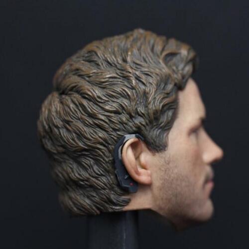 1//6 Star-Lord Chris Pratt Head Sculpt Gardiens de la galaxie pour HotToys PHICEN