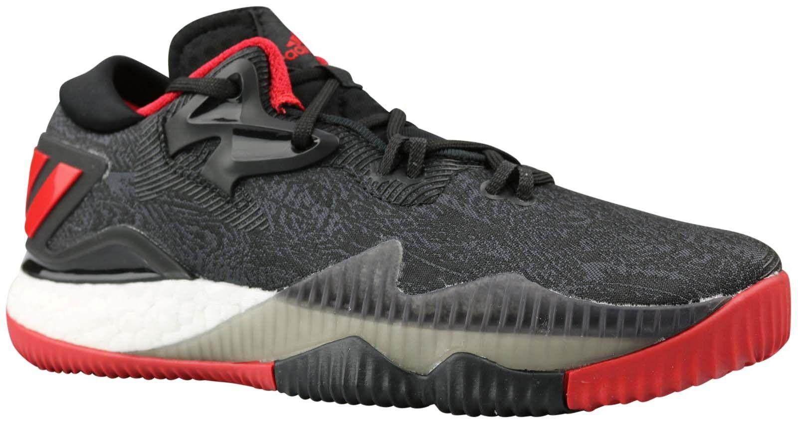 ADIDAS CRAZYLIGHT Boost Low scarpe da ginnastica Scarpe Nero b42603 b42603 b42603 Taglia 35,5 & 37 NUOVO & OVP 5654c3