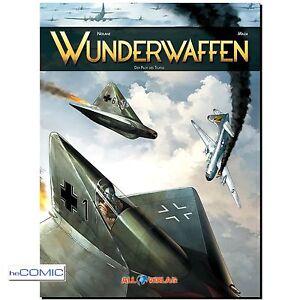Wunderwaffen-1-Der-Pilot-des-Teufels-Neuauflage-FLIEGERSTAFFEL-COMIC-40er-LP-NEU