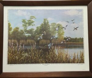 Jim Booth Quot Wings Of Autumn Quot Signed And Numbered Limited