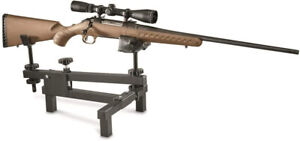 Shooting-Bench-Rifle-Gun-Rest-Adjustable-Cradle-Sight-Sturdy-Stable-Hunting-Gear