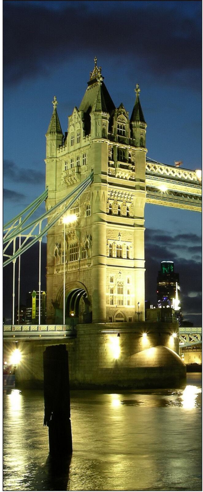 Cartel Póster Puerta Decoración Trampantojo Londres Ref 701-4 Tallas