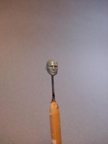 """MH091 Custom Cast Male head for use with 3.75/"""" GI Joe Star Wars Marvel figures"""