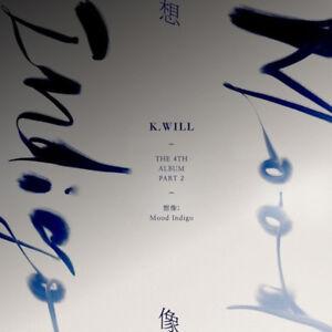 K-Will-Part-2-Nonfiction-Mood-Indigo-4th-Album-CD-Booklet-P-Card-K-POP