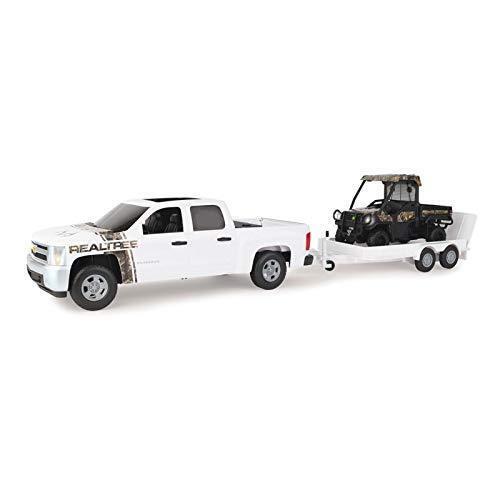 Nuevo Recolección Chevrolet granja grande John Deere Gator & Remolque, Camo con 825i (LP68849)