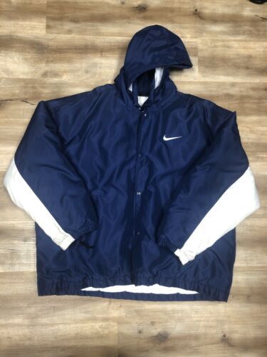 NIKE SPORTSWEAR VINTAGE 90s SNAP UP WINTER HOODIE