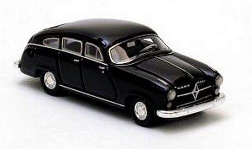Borgward Hansa B 2400 berline 1952 noire Echelle 1//87 Ho Neo