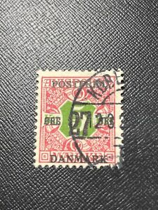 Denmark Scott 143 Used Surcharged - 75% Off Sale With Free US Shipping