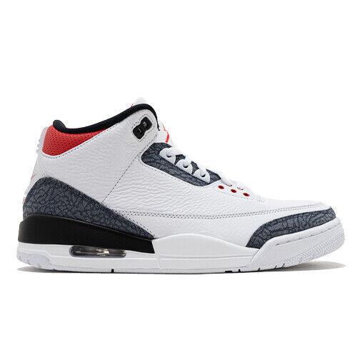 Size 9 - Jordan 3 Retro Denim SE Fire Red 2020 for sale online   eBay