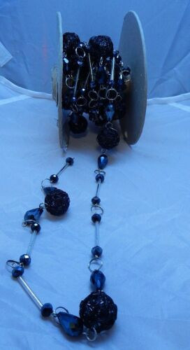 Chain Roll largest stone10mm Stone Rope Chain sold by the foot $1.75 Foot NEW