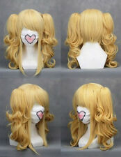Yellow VOCALOID KASANE TETO Elizabeth Black Butler Cosplay Wig Synthetic Wigs
