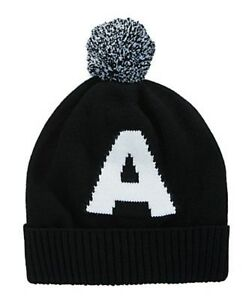 46852c2161a Image is loading Armani-Exchange-Letter-Beanie-Hat-New-with-tags