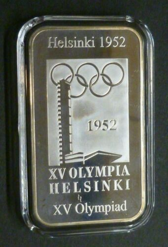 Olympic Games 2012 Sterling Silver Ingots 1896-1972 Official Museum Collection