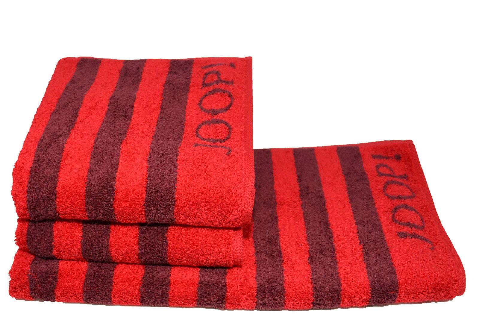 migliore vendita Joop  Asciugamano Classic 1610 1610 1610 strisce duschtuch RUBINO 24 sauna Panno asciugamani  elementi di novità