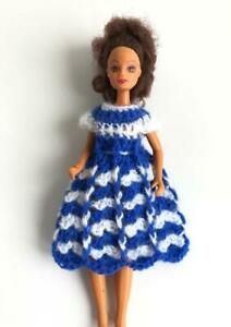 Dress-for-Dawn-Pippa-Starr-Doll-Clothes-Handmade-in-USA-Blue-White-OOAK-Lot-DN-1