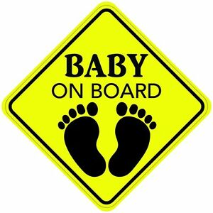 Magnet For Car >> BABY ON BOARD Sign Sticker Decal Car Buy 2, Get 3rd FREE Made In the USA Premium