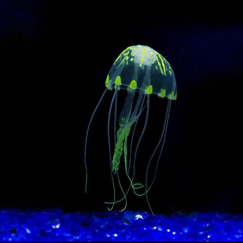 Decor Jellyfish Aquarium Decoration Artificial Glowing Effect Fish Tank Ornament