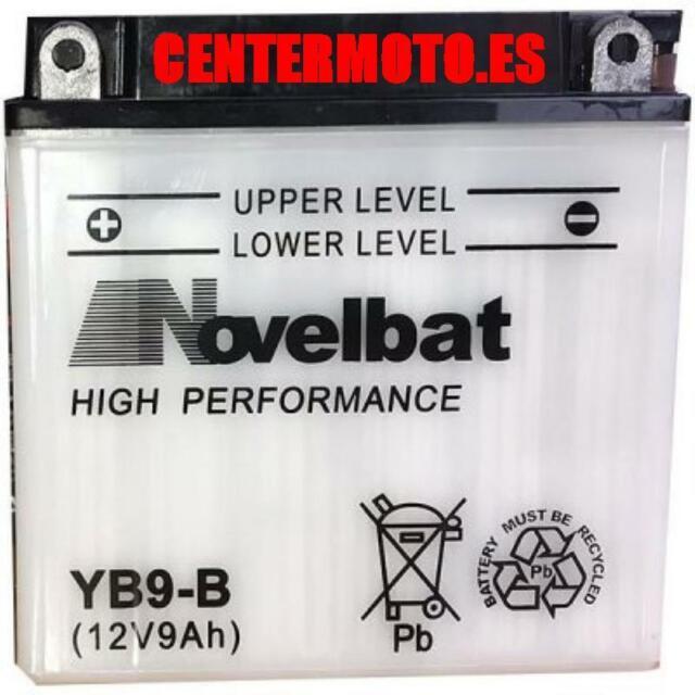 NOVELBAT YB9-B 12N9-4B-1 Bateria 12v 115A 9Ah 135x75x139+i 24H