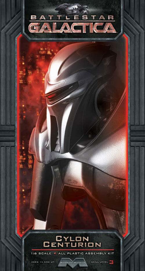 2012 moebius 1  6 di battlestar galactica nuovo cylon centurione model kit di nuovo galactica nella scatola c6d9eb