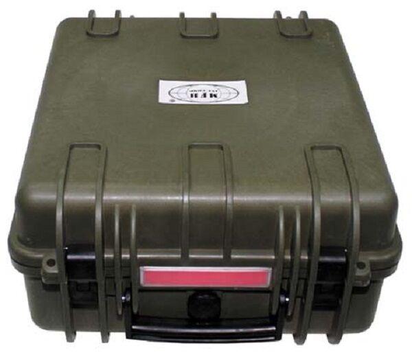 Box Transportbox Koffer wasserdicht 36x41,9x19,5cm Transport Schaumstoffeinsatz