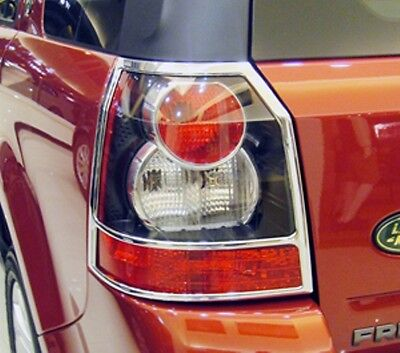 LAND ROVER FREELANDER 2 Chrome Rear Light Trim 2006 TO 2012 (PRE LIGHT UPDATE)