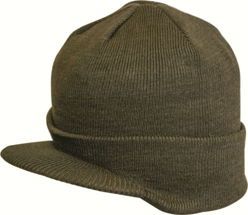 New Olive or Black Peak Hat One Size Fits All Great for Fishing Hiking Bushcraft