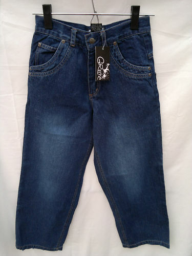 BNWT Boys Sz 10 Grime Brand Dark Denim Straight Leg Jeans