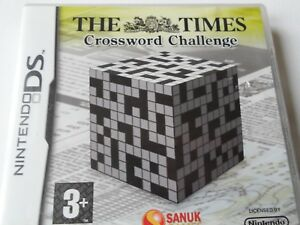 the times crossword challenge on nintendo ds 3 plus rated - Rochester, United Kingdom - the times crossword challenge on nintendo ds 3 plus rated - Rochester, United Kingdom