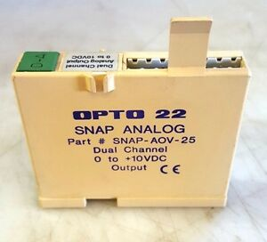 OPTO22-SNAP-ANALOG-SNAP-AOV-25-OUTPUT-MODULE-DUAL-CHANNEL-0-10-VDC