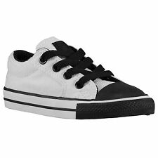 CONVERSE Chuck Taylor Ill OX Toddler Shoes sz 8 Optical White Black All Star CT