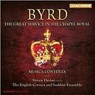 William Byrd - Byrd: The Great Service in the Chapel Royal (2012)