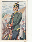 Prussia Jäger Gendarmerie Rider Deutsches Heer Germany Uniform IMAGE CARD 30s