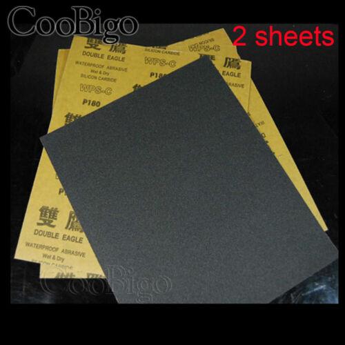 9/'/'x11/'/' Wet Dry Sandpaper 400//600//800//1000//2000//3000//5000 Grit Abrasive Paper
