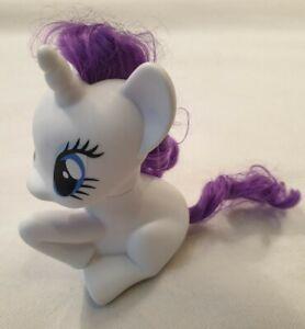 "My Little Pony Pony con Viola White capelli Rarity HTI Giocattoli Hasbro 2016 7"" ""Tall"