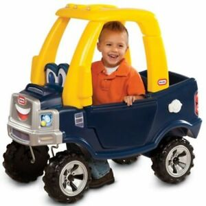 Little-Tikes-Cozy-Ride-on-Truck-with-Drop-Down-Tailgate-for-Toy-Storage-NEW