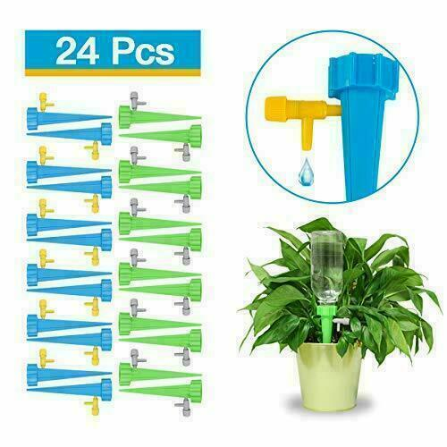 6//12pcs Plant Watering Device Automatic Water Irrigation Control System 3 Colors