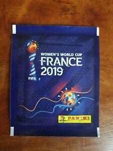 Panini-Frauen-France-2019-women-WC-2019-10X-Tuten-bustina-pak-Inter-4code-bar