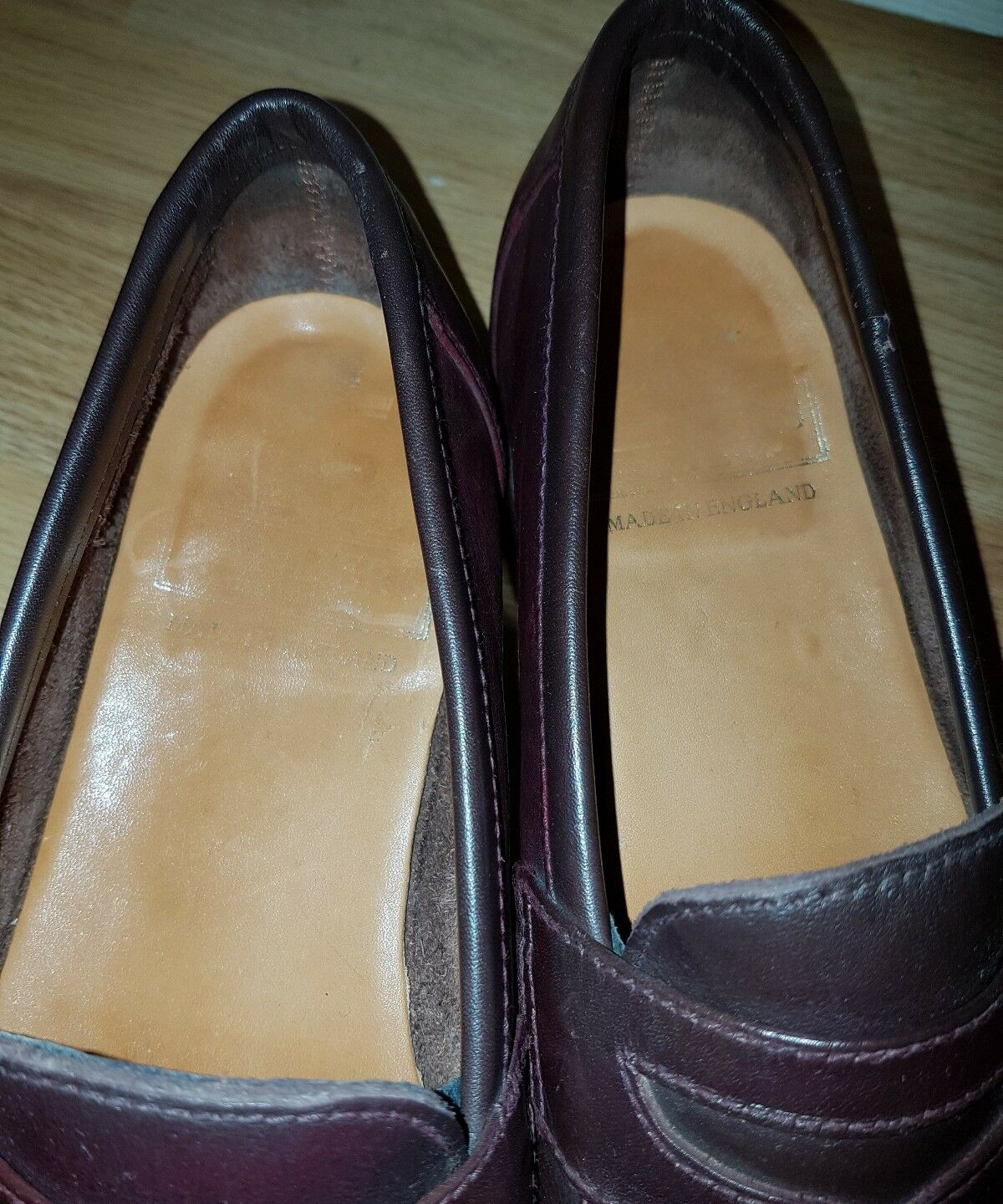 SANDRES MEN'S IN  LOAFERS  MADE IN MEN'S ENGLAND  SIZR 8 f6076f
