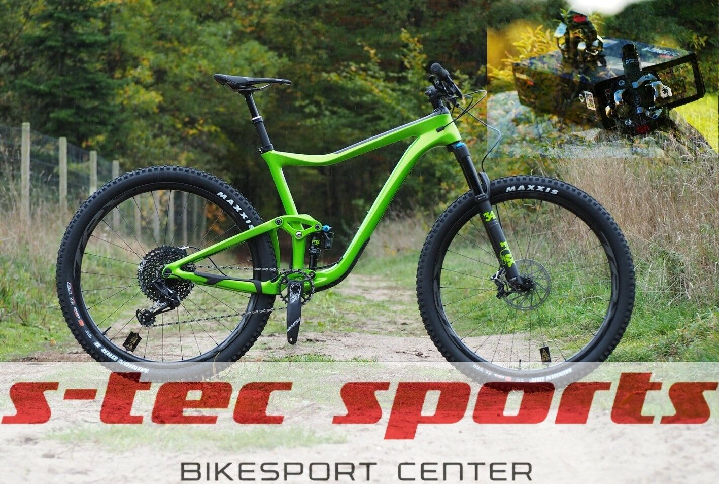 Look X-Track Race Carbon , Pedal-Tuning Set Giant Trance 2019 , Giant Bikes 2019